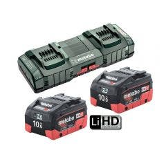 METABO 10.0Ah Duo Fast Charger Starter Kit AU62749810