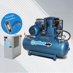PILOT AIR K-Pack Reciprocating Compressor Complete System K30-PACK
