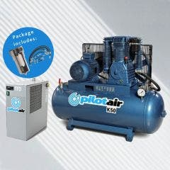 PILOT AIR K-Pack Reciprocating Compressor Complete System K50-PACK