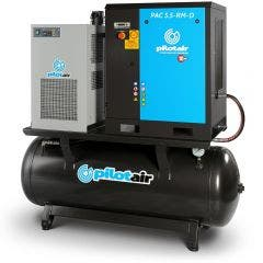 PILOT AIR 5.5KW Fixed Speed Rotary Screw Compressor Full Feature PAC 5.5-RM-D