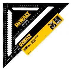 DEWALT 300mm Aluminium Speed Rafter Square - Metric DWHT25228-0