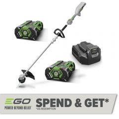 EGO POWER+ 56V Brushless 2 x 2.5Ah 330mm Line Trimmer Kit ST1302E-B