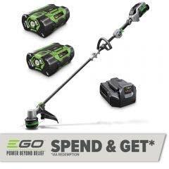 EGO 56V Brushless Powerload 380mm 2x2.5Ah Line Trimmer Kit ST1521E-B