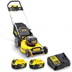 DEWALT 36V Brushless 2 x 5.0Ah 480mm Lawn Mower Kit DCMW564P2-XE