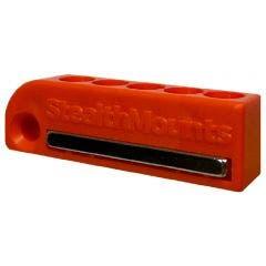 STEALTHMOUNTS 2 Pack Bit Holder for AEG/Ridgid Orange BH-AR-ORG-2
