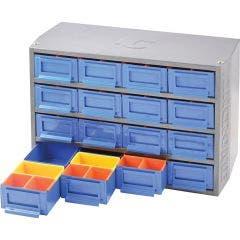 KINCROME 16 Drawer/64 Trays Interlockable Multi Cabinet K7640