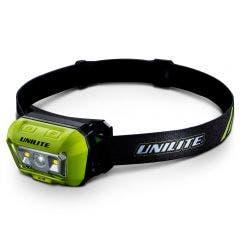 UNILITE 475 Lumens Sensor Dual Beam Headtorch HL-8R