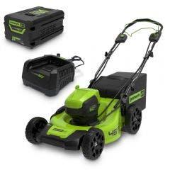 GREENWORKS 60V 1 x 4.0Ah 460mm Lawn Mower Kit 2514907AU