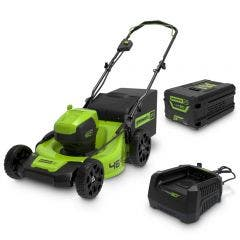 GREENWORKS 60V 1 x 4.0Ah 460mm Lawn Mower Kit 2514807AU