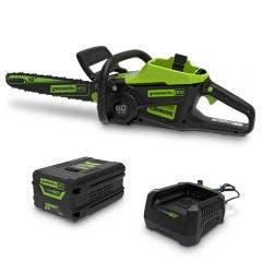 GREENWORKS 60V 1 x 4.0Ah 400mm Chainsaw Kit 2008007AU