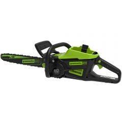 GREENWORKS 60V Chainsaw 400mm Skin 2007207AU