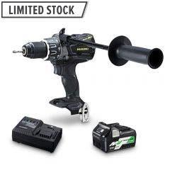 HiKOKI 36V Brushless 1 x 2.5Ah/5.0Ah Black & Gold Edition Impact Hammer Drill Kit DV36DA(BP1Z)