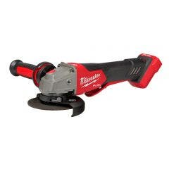 MILWAUKEE 18V FUEL™ Brushless 125mm Angle Grinder with Deadman Paddle Switch Skin  M18FAGV125XPDB-0
