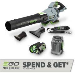 EGO POWER+ 56V 1 x 5.0Ah 1105 M3/H Blower Kit LB6504E