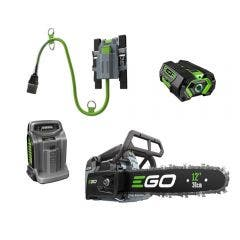 EGO POWER+ 56V Brushless 1 x 5.0Ah 300m Top Handle Chainsaw Kit CSX3002