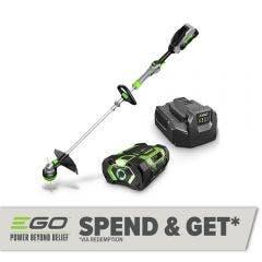 EGO POWER+ 56V 1 x 2.5Ah 350mm POWERLOAD™ Line Trimmer with Telescopic Aluminum Shaft Kit ST1401E-ST