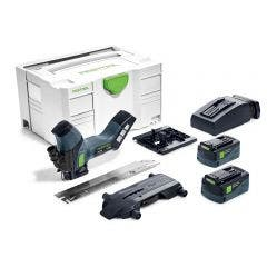 FESTOOL 18V 240mm ISC 240 1 x 5.2Ah Insulation Saw in Systainer Set 577128