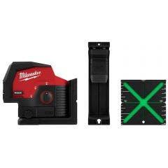 MILWAUKEE 12V Cross Line + 2 Plumb Laser Skin M12CPL-0C