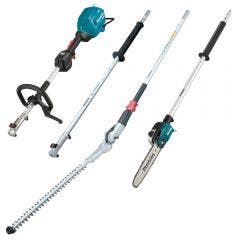 MAKITA 40V MAX XGT Brushless Multi Function Power Head w. Pole Saw, Pole Hedge Trimmer & Extension Pole UX01GZ07