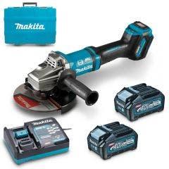 MAKITA 40V Max XGT Brushless 180mm 2x4.0Ah Angle Grinder Kit GA037GM201