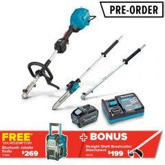 MAKITA 40V MAX XGT Brushless 3 Piece 1 x 5.0Ah Combo Kit UX01GT102-B