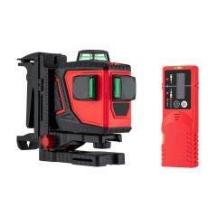 GENERAL 3x360 3D Green Beam Multi-line Laser Level Premium Kit ML-3DG GML3DGPRMKT