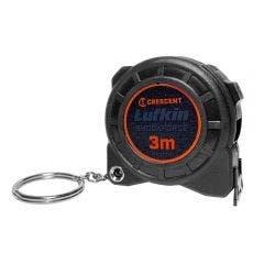 CRESCENT LUFKIN Shockforce Nite-Eye 3m Key Chain Tape Measure NE313M