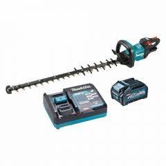 MAKITA 40V MAX XGT Brushless 1 x 4.0Ah 750mm Trimmer Hedge Kit UH007GM101