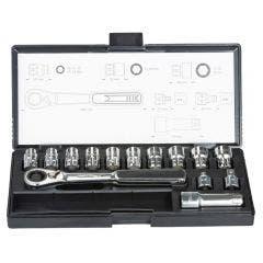 MAKITA Pass Thru Socket Set - 14 Piece B-65595