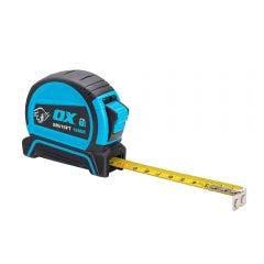 OX 5m x 19mm Double Locking Tape Measure OX-T505205