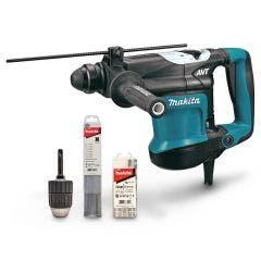 MAKITA 850W 32mm SDS Plus Rotary Hammer HR3210CX1