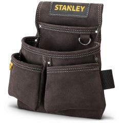 STANLEY Tool Leather Double Nail Pocket Pouch STST1-80116