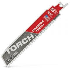 MILWAUKEE 150mm 7TPI TCT Reciprocating Saw Blade for Metal Cutting - THE TORCH
