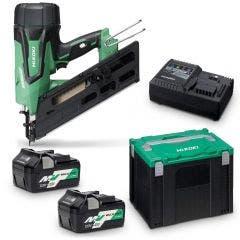 HiKOKI 18V Brushless 90mm Strip Framer Nailer Kit NR1890DBCLHRZ NR1890DBCL(HRZ)