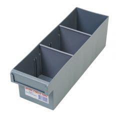 FISCHER 100 x 100 x 300mm 2 Divider Small Storage Tray 1H001
