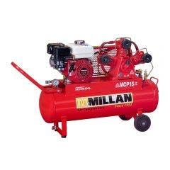 MCMILLAN 6.5HP 60L W-Triple Petrol Belt Compressor MCP15