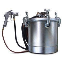 STAR 10 Litre Manual Pressure Pot Pro Air Spray Gun S770-10QP