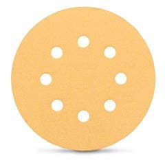 BOSCH 125mm Mixed-Grit 8-Hole Hook & Loop Sanding Disc for Wood & Paint - C470 - 6 Piece
