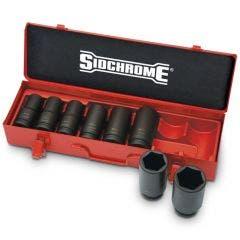 SIDCHROME 3/4inch SD Met Impact Socket Set 8Pce XS608ML