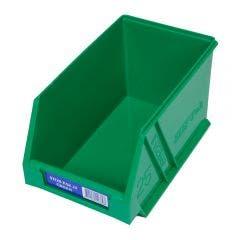 FISCHER 133 x 220 x 125mm STOR-PAK 25 Green Storage Bin 1H062G