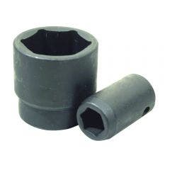 SIDCHROME 1 3/8inch 1/2inch 6 point SD Impact Socket X444