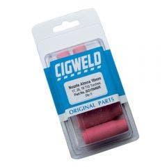 CIGWELD 11mm Aluminium Nozzles Suits 17, 26, 18 TIG Torches 5pc BG10N47R