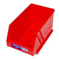 FISCHER 133 x 220 x 125mm STOR-PAK 25 Red Storage Bin 1H062R