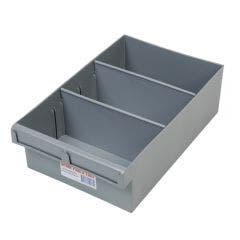 FISCHER 200 x 100 x 300mm 2Divider Int Storage Tray 1H003