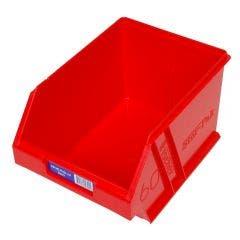 FISCHER 200 x 275 x 165mm STOR-PAK 60 Red Storage Bin 1H063R