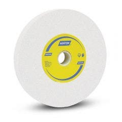 NORTON 200 x 25mm 120-Grit Very Fine White Aluminium Oxide Toolroom Grinding Wheel