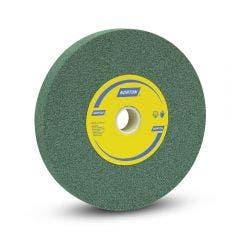 NORTON 200 x 25mm 80-Grit Fine Silicon Carbide Grinding Wheel - Green