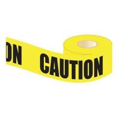 CRESCENT LUFKIN 100m x 75mm Yellow Caution Barrier Tape BC100