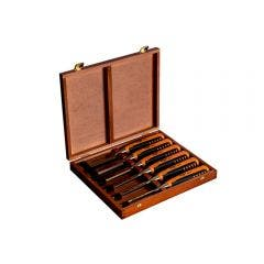 BAHCO 6 Piece Chisel Set in Wooden Box 424PS6EUR