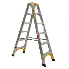 53018-Double-Sided-A-Frame-Ladder-18M-6ft-Aluminium-150kg-Industrial_1000x1000_small